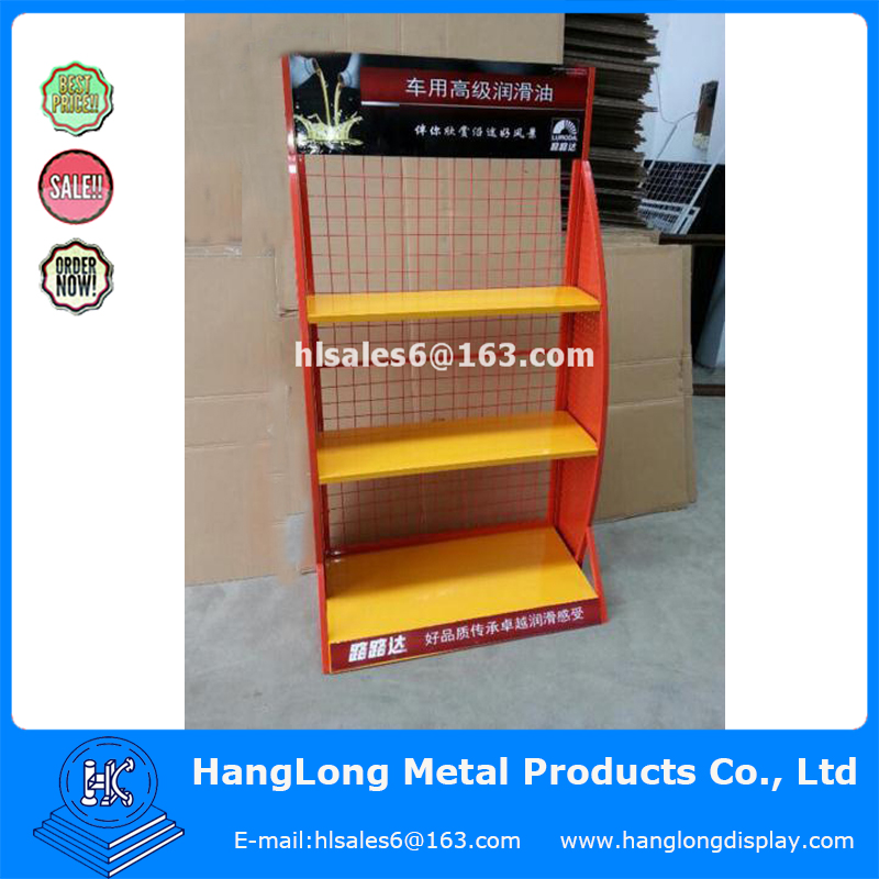 cold-rolled sheet,steel tube Material oil display rack