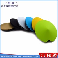 hot selling cheap yellow hands free call 500mah handfree wireless portable handy bluetooth mini ufo speaker