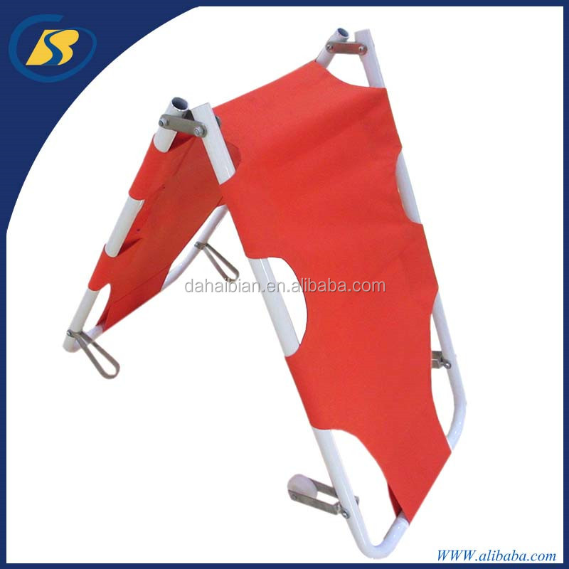 Hospital stretcher folded emergency stretcher patients transfer ambulance stretcher