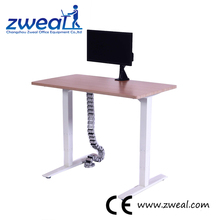 electric single motor 2-& 3-column sit/stand hydraulic lift table certified height adjustable computer desk frame