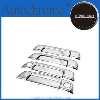 Newest 2015 hot products high quality car accessory chrome handle cover for BMW E32
