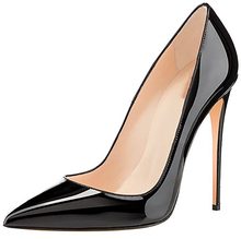 wholesale Sexy Pencil High Heel Patent Leather Pointed Toe Wedding Shoes For Women 2017