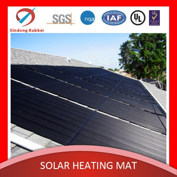 SPA solar heating plastic/rubber mat (Double UV Protection, chemical-resistant)