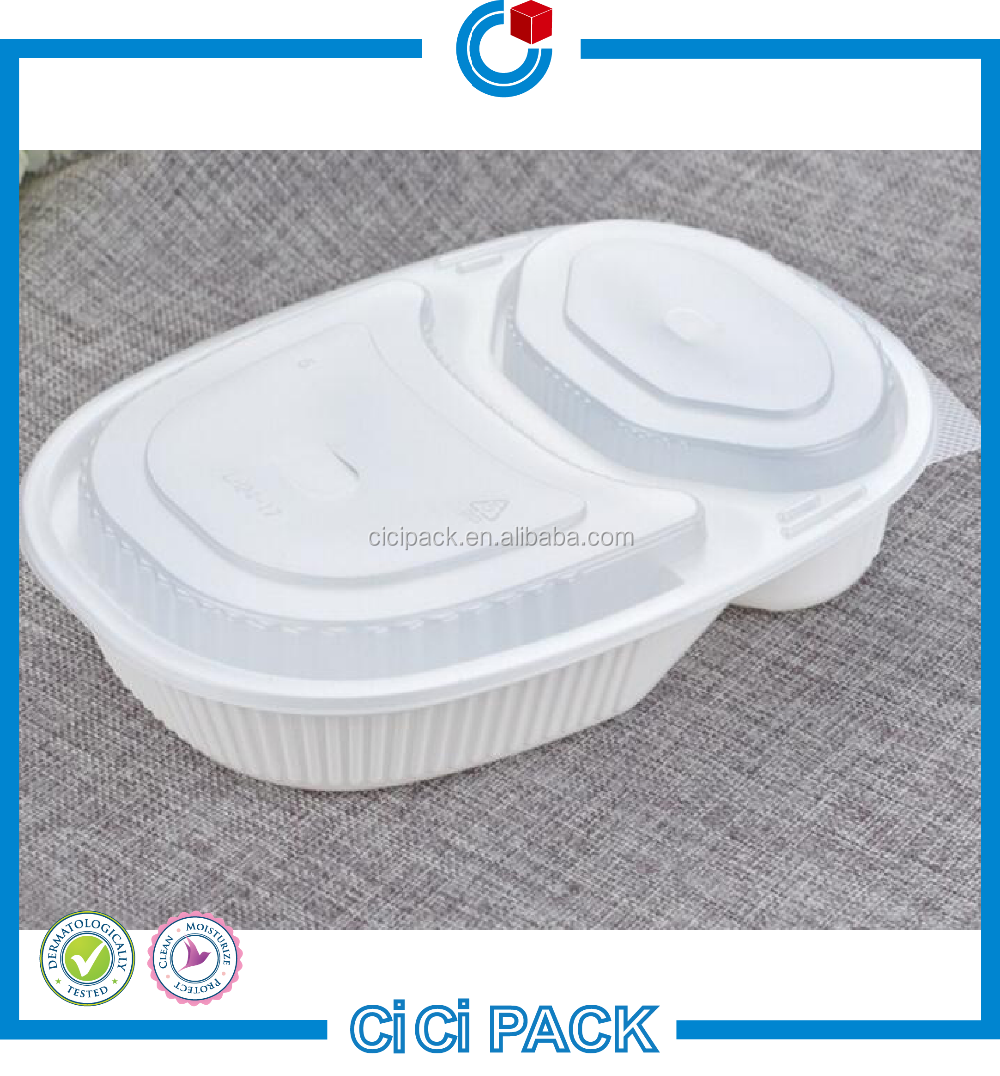 Restaurants use plastic disposable microwave safe food containers with high quality wholesale