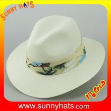 2017 newest material trendy summer straw hat made from Sunny hats