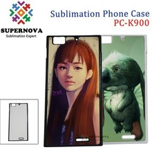 Bulk Embossing Custom Printed 2d Sublimation Phone Case for Lenovo K900