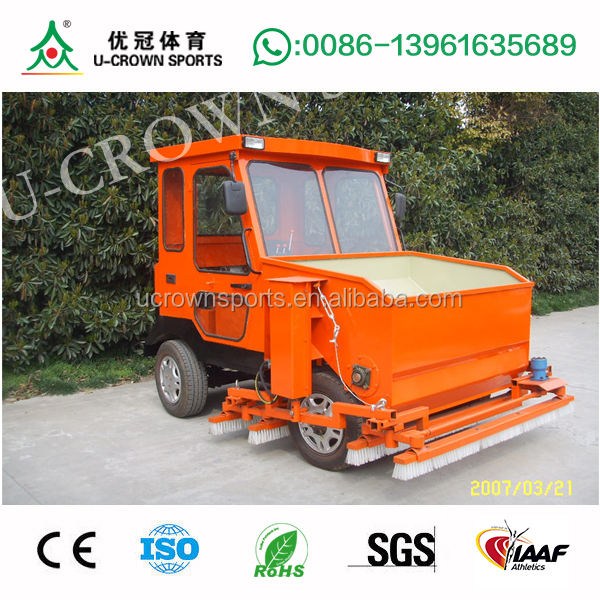 artificial turf care machine for artificial grass maintenance