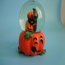 cheap witch snow globe for halloween holiday gift