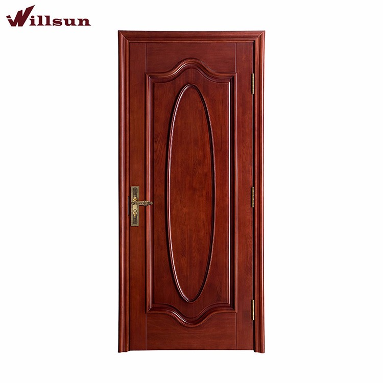 Hot kerala door designs interior plywood door for living for Plywood door design