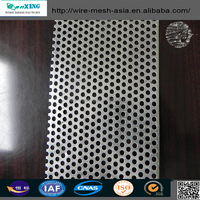 OEM Stainless Steel Filter Wire Mesh Tube , Perforated Metal Mesh Tube