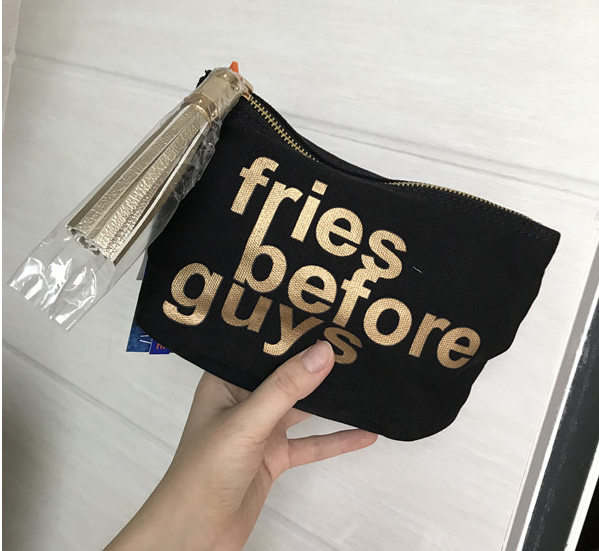 OEM factory price custom printed canvas pouch with zipper small for <strong>cosmetic</strong>