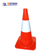 plastic solid metal cones square traffic cone for traffic safety