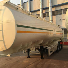 China HC ISO 35000L 12R22.5 TIRE 55T TRI-AXLE FOSSIL OIL FUEL TANKER SEMITRAILER FOR SALE