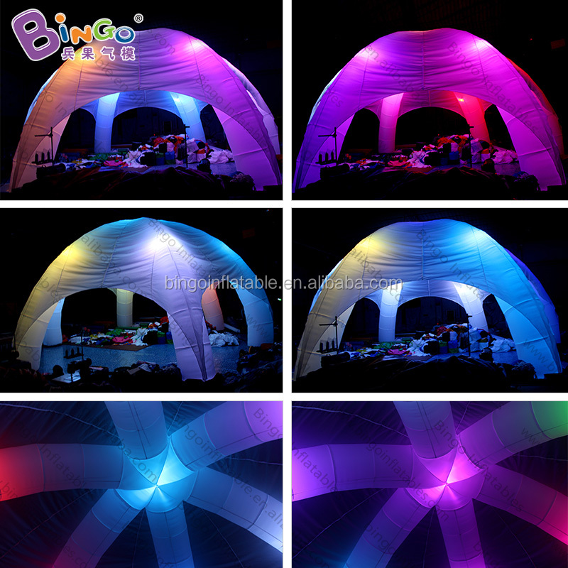 Popular inflatable carnival game tent light used party tents