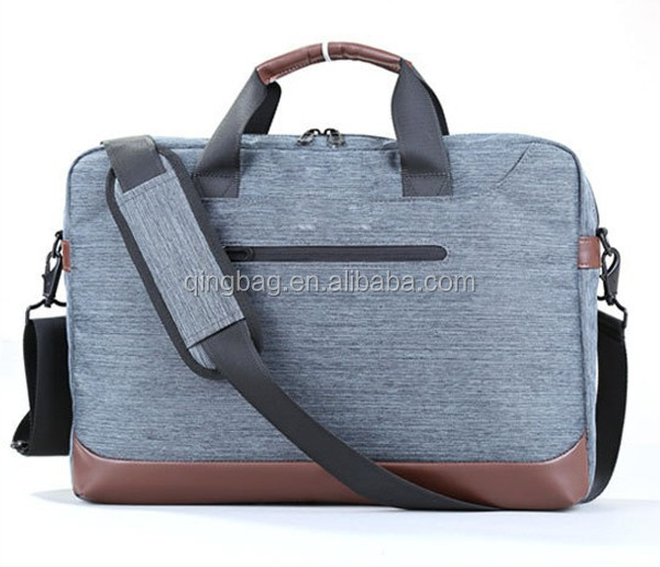 Men Leather Shoulder Bussiness Messenger bag for Laptop