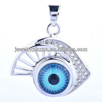 2012 New style jewelry fashion,turkey blue eye jewelry(EYE-005)