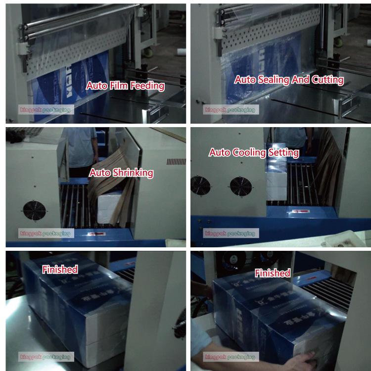 manual bottle shrink wrap machine