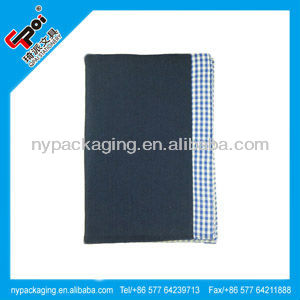 school book cover design/school file cover designs/cloth cover notebook