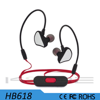 Rohs sports wireless headphone earphone mp3 player for ear hook