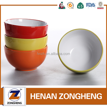 custom printed microwave safe ceramic bowls with airtight lid