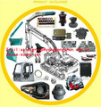 EXCAVATOR SPARE PARTS ENGINE PARTS HYDRAULIC PARTS ELECTRICAL PARTS UNDERCARRIAGE PARTS