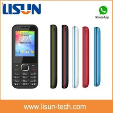 "quad band dual sim 2.4"" very cheap cell phone blu mobile with whatsapp torch made in China factory bulk price"