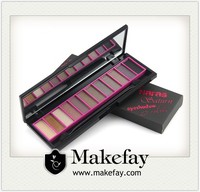 Best selling cheap make-up cosmetic 12 color eyeshadow