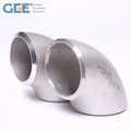 ASME B16.9 Butt Welded wp304/304l stainless steel 90 degree elbow