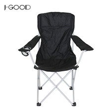 Great Recline Heavy Duty Steel Frame Folding Outdoor Camping Chair