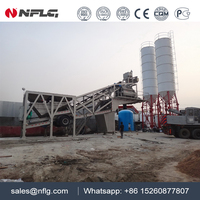 Automatic machinery 60m3/h concrete batching plant with 25 years experience