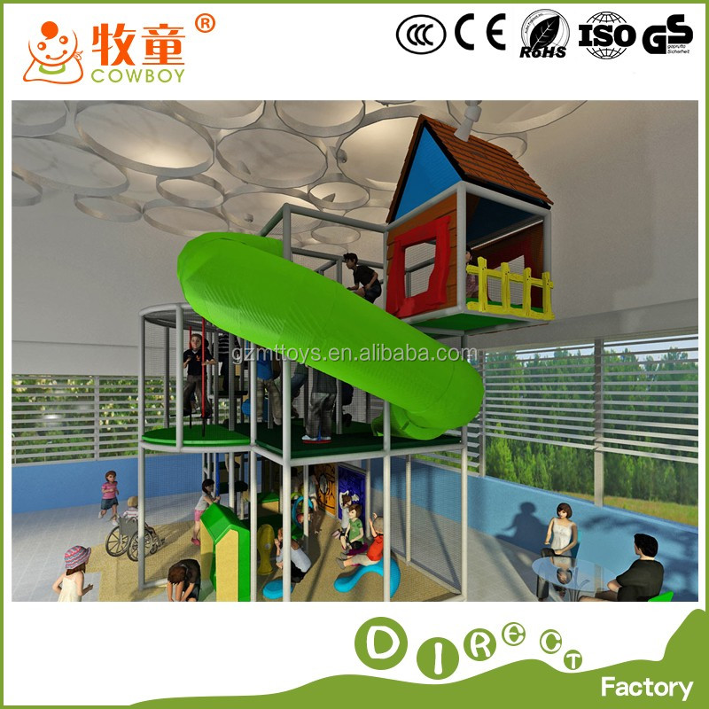 INDOOR SOFT PLAY CASTLE/ super market amusment playground/ GLASS/ soft kids playground/ outdoor