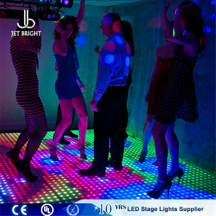 8x8 pixel led dance floor,digital light up dance floor