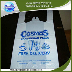 China Wholesale Market Agents plastic t-shirt bags making machine supplier