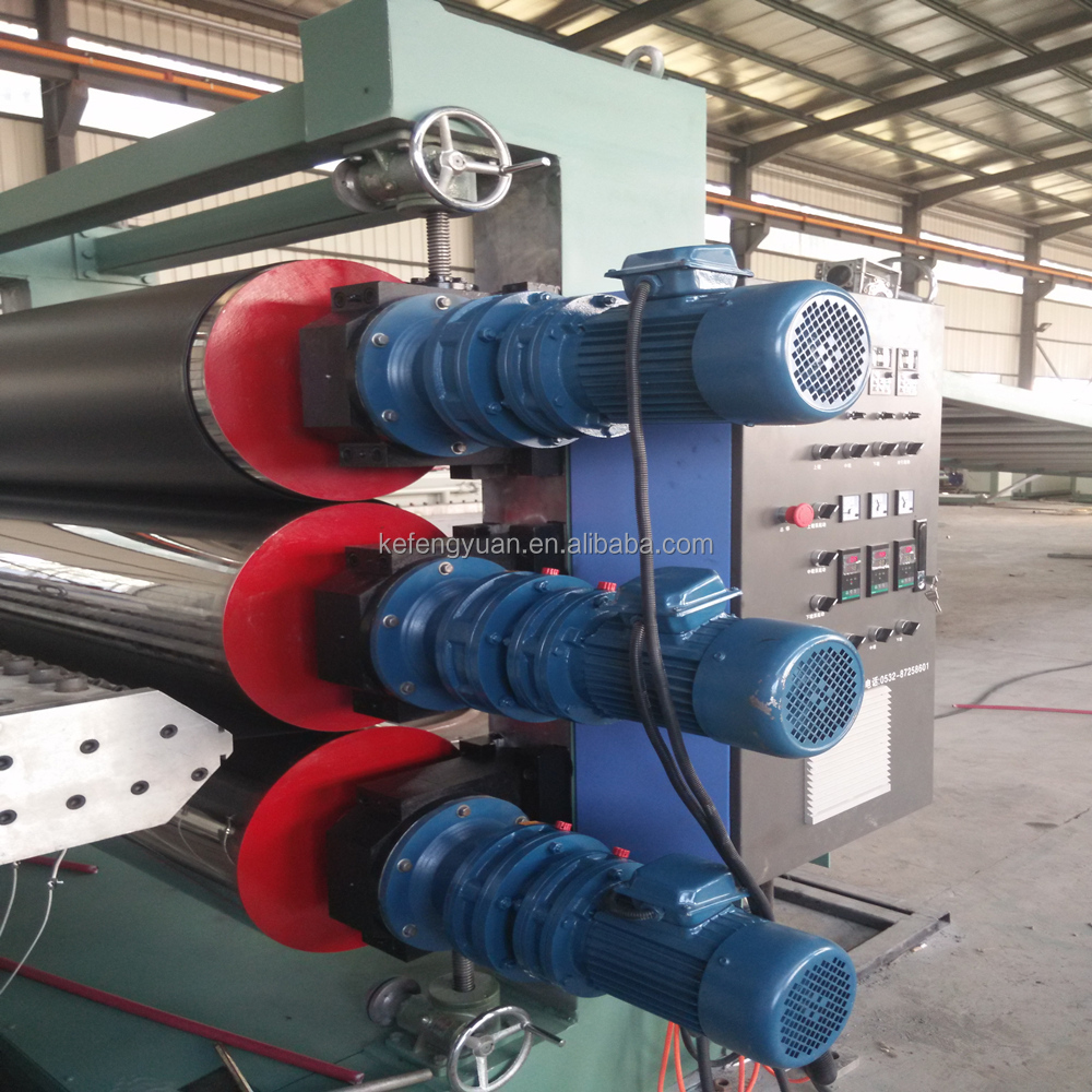 PE/PVC/PP/ABS Plastic Sheet&Board production line