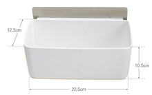 J256 plastic Wall Mounted Bathroom plastic Lovely foldable storage box