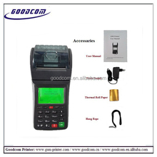 GOODCOM GT6000S portable GPRS SM Shandheld billing payment machine for Mobile Topup E-voucher and Bill Payment