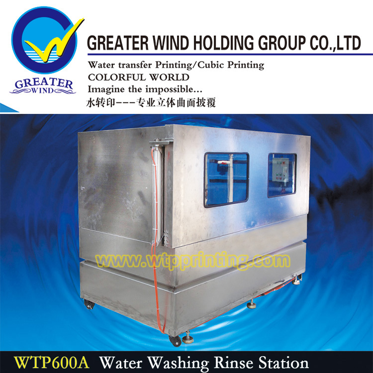 Greater Wind Hydro printing water washing rinse station water transfer washing machine WTP600A