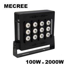 Long-Distance Waterproof COB Dimmable Outdoor UL 100W 150W 200W 250W 300W 400W 500W 600W 1000W 2000W LED Flood Light