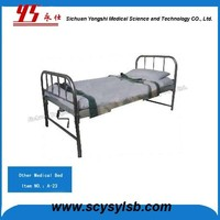 Cheap Metal Frame Psychiatric Hospital Patient Restraint Bed on Sale