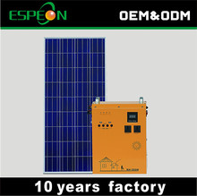 300W solar power generator 220v portable solar energy systems home