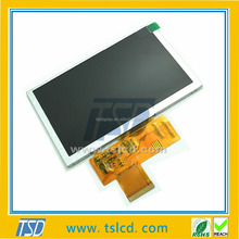 Original OEM/ODM LCD supplier 5 inch TFT display panel 800*RGB*480 with touch screen & RGB interface for intelligent equipment