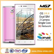 Very Stable Quality OMES MG7 4.5 inch 3G Dual Sim Android 4.4 Kitkat Cheap chinese touch screen cell phone