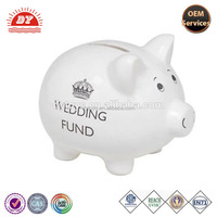 ICTI Factory Plastic Wedding Fund Money Box
