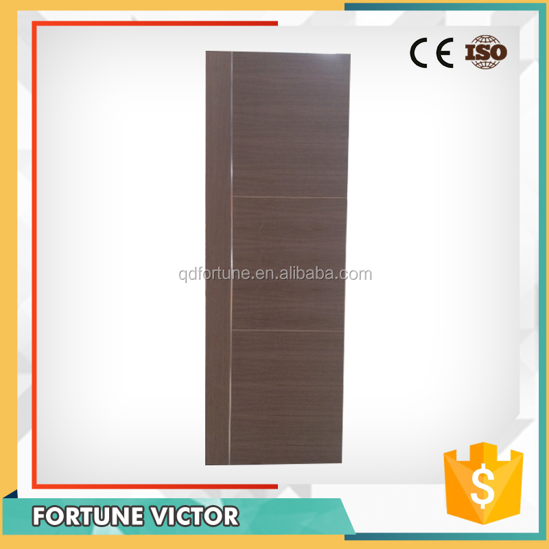 China supplier outdoor design finished wood door