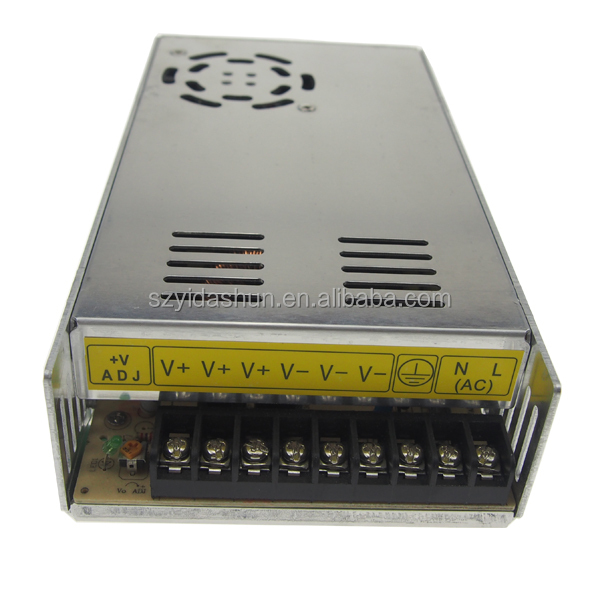 12v 30a 360w led switching power supply/200v dc power supply/China alibaba