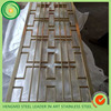 304 201 brass perforated sheet stainless steel screen for resturant decorating