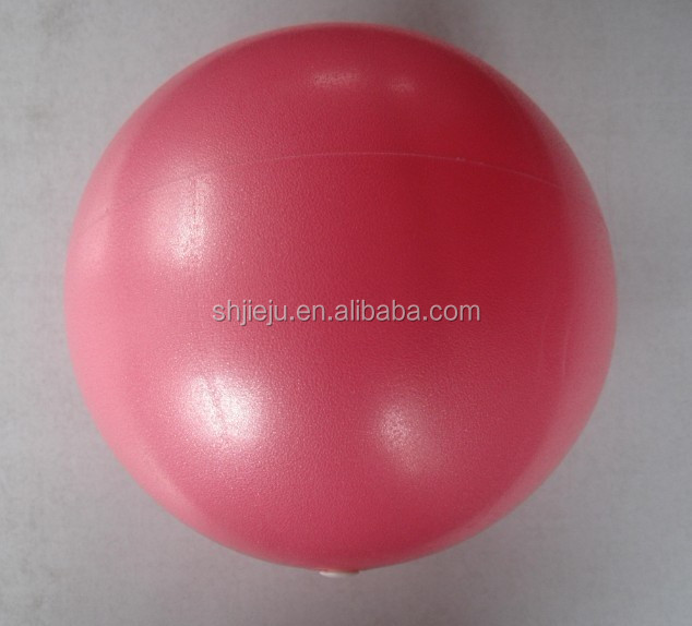 Chinese popular Inflatable Mini Gym Ball , pilates ball 25cm-120g
