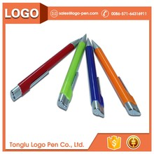 plastic ball promotional function ballpoint pen