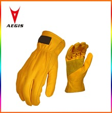 High quality leather driver gloves Elastic driver work gloves safety Equipment operation