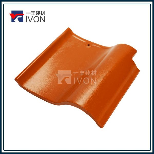 Hot sell IVON double roman plastic roof tiles hard plastic transparent sheet